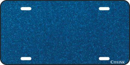 Blue Glitter Tag-0