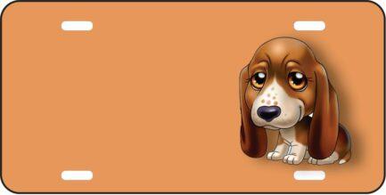 Doberman Dog Cartoon Tag-0