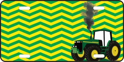 John Deer Green with Chevron-0