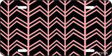Pink and Brown Chevron -0