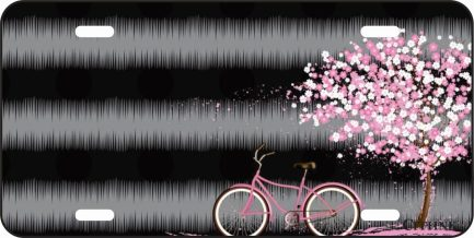 Pink Tree with Pink Bike-0