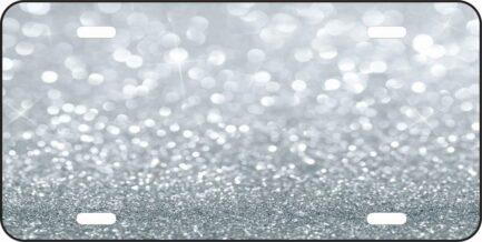 Silver Glitter Tag-0