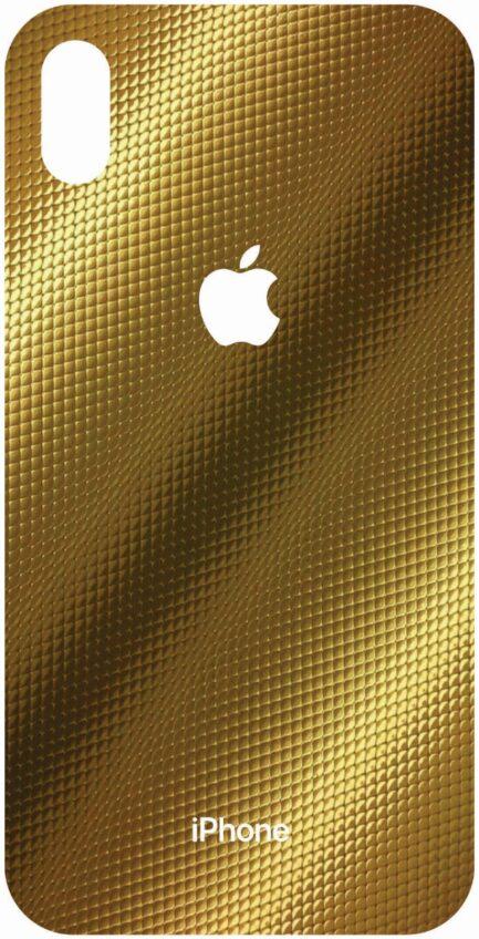 iPhone Xs Max Gold Design Skin-0