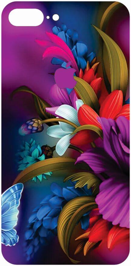 iPhone 8 Plus Flower Design #2-0