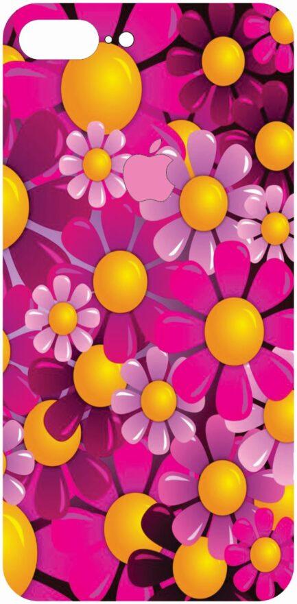 iPhone 8 Plus Flower Design #3-0