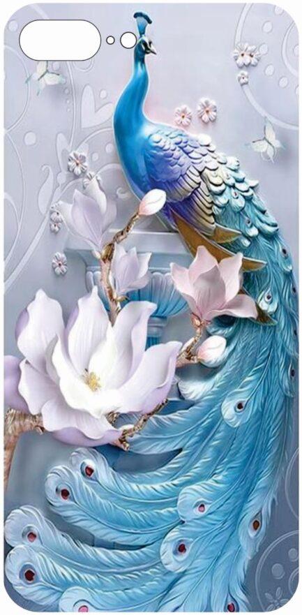 iPhone 8 Plus Peacock Design-0