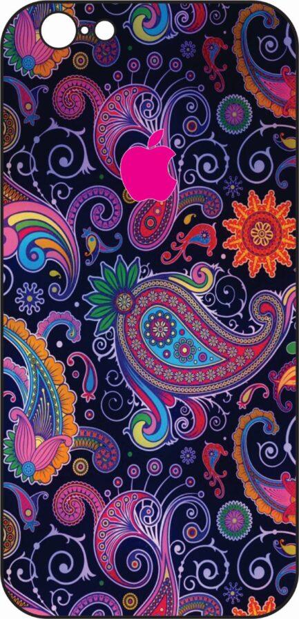 iPhone 6/6s Purple Paisley Design-0