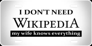 I dont Need Wikipedia